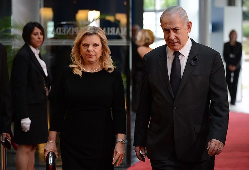 Премьер-министр Израиля Биньямин Нетаньяху и его супруга Сара Нетаньяху