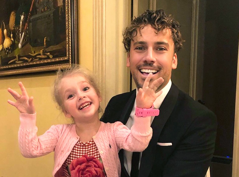 Максим Галкин и его дочь Лиза