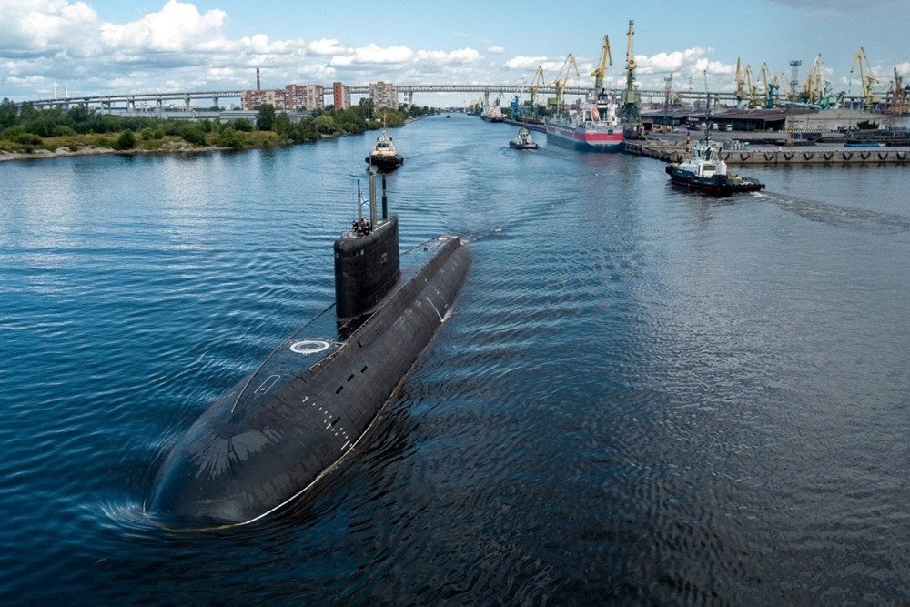 """Дизель-электрическая подводная лодка """"Петропавловск-Камчатский"""""""