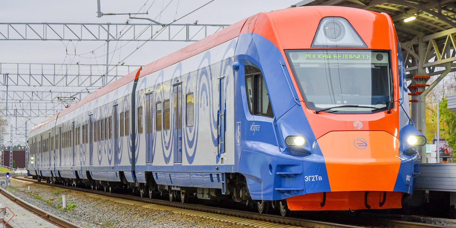 """Поезд """"Иволга"""" на МЦД"""