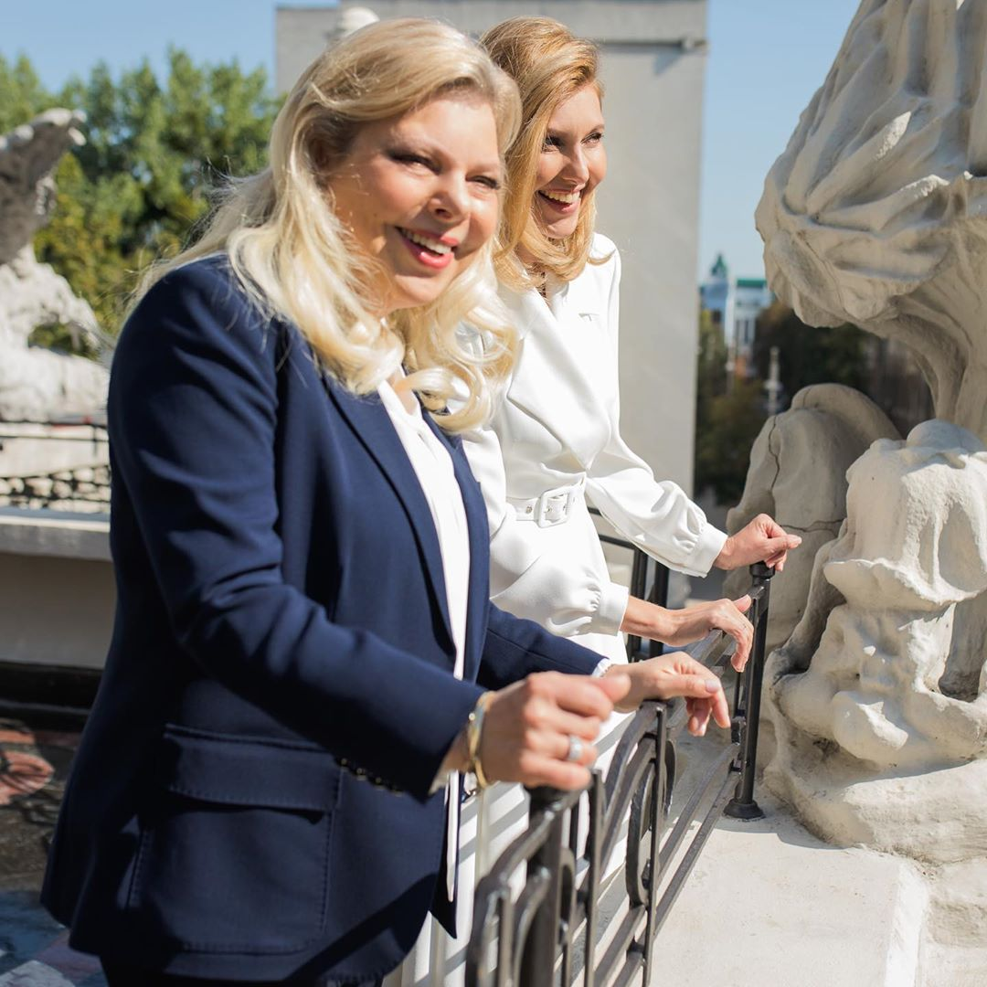 Елена Зеленская и Сара Нетаньяху