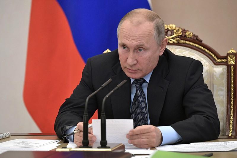 Владимир Путин проводит совещание по вопросам модернизации первичного звена здравоохранения