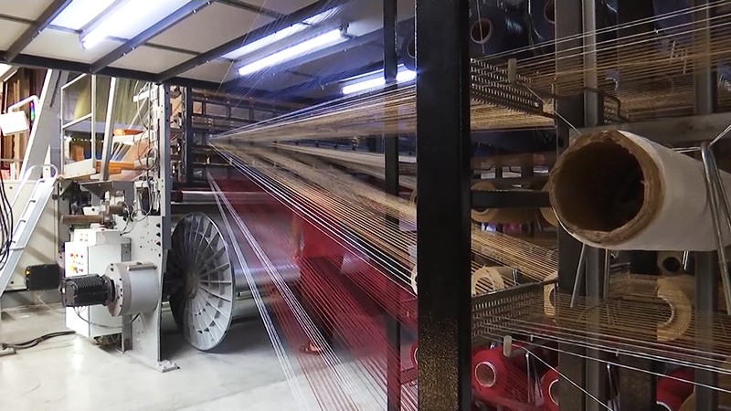 Производство ковров в Сирии