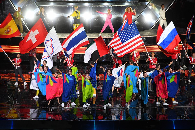Церемония открытия WorldSkills Kazan 2019