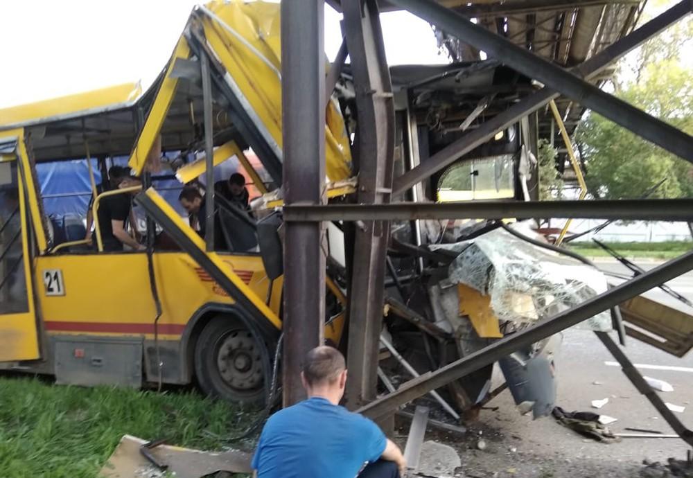 ДТП с уастием автобуса в Удмуртии