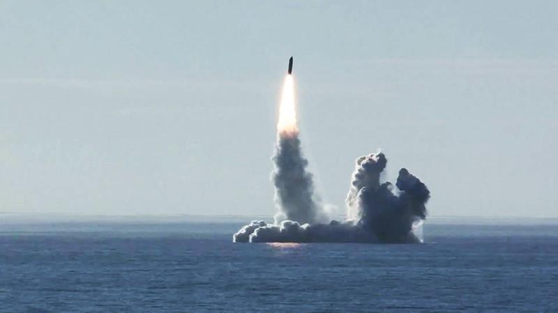 "Запуск ракеты ""Булава"""