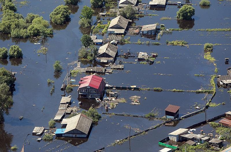 Паводок в регионах Дальнего Востока