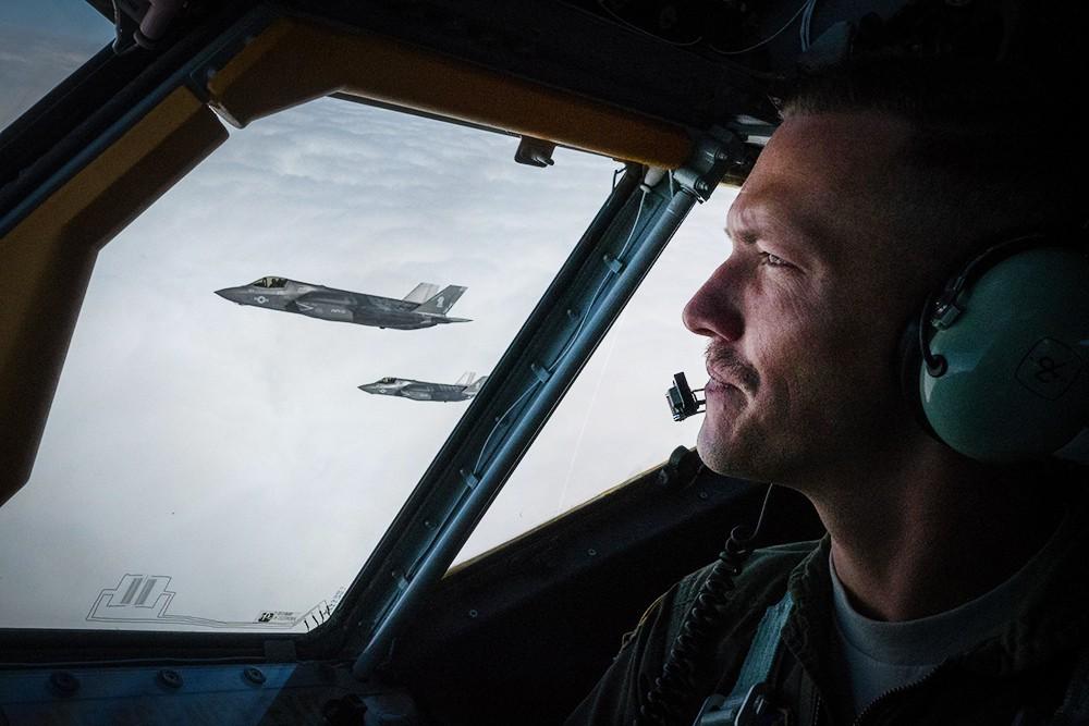 Истребители F-35 ВВС США