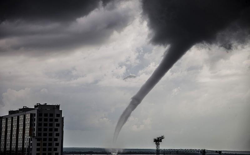 Торнадо в Испании