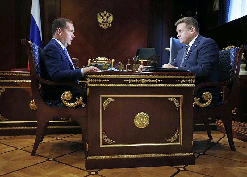 Дмитрий Медведев и Николай Любимов