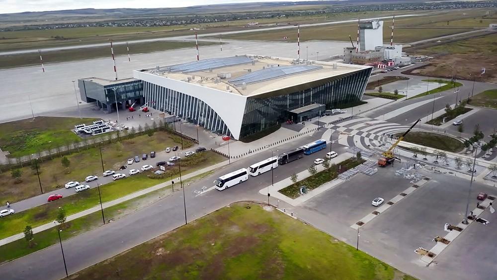 """Международный аэропорт """"Гагарин"""" в Саратове"""