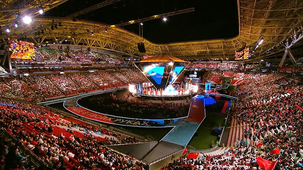 Церемония закрытия чемпионата WorldSkills