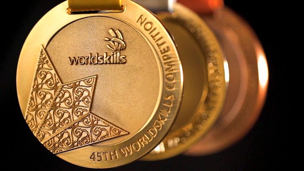 Медали чемпионата Worldskills
