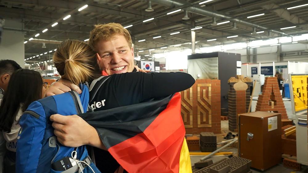 Участники чемпионата Worldskills