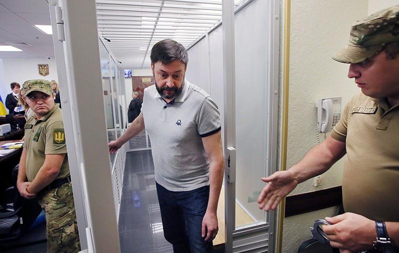 Суд в Киеве освободил Кирилла Вышинского из-под стражи