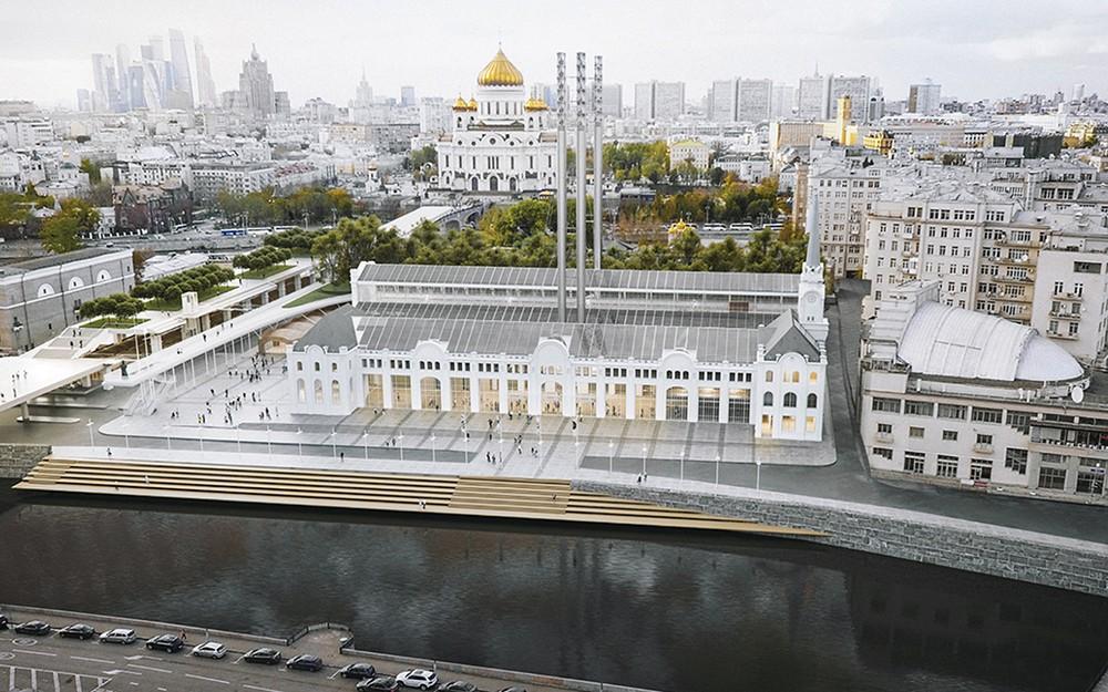 Проект реставрация ГЭС-2