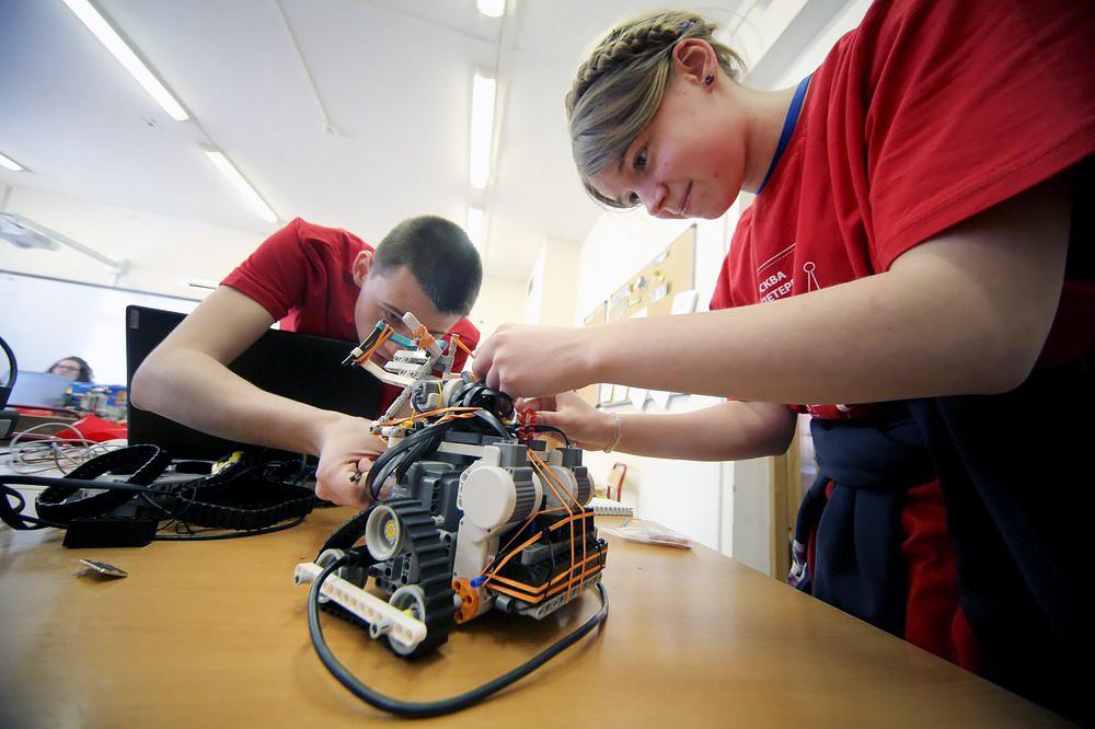 Центр робототехники в детском технопарке