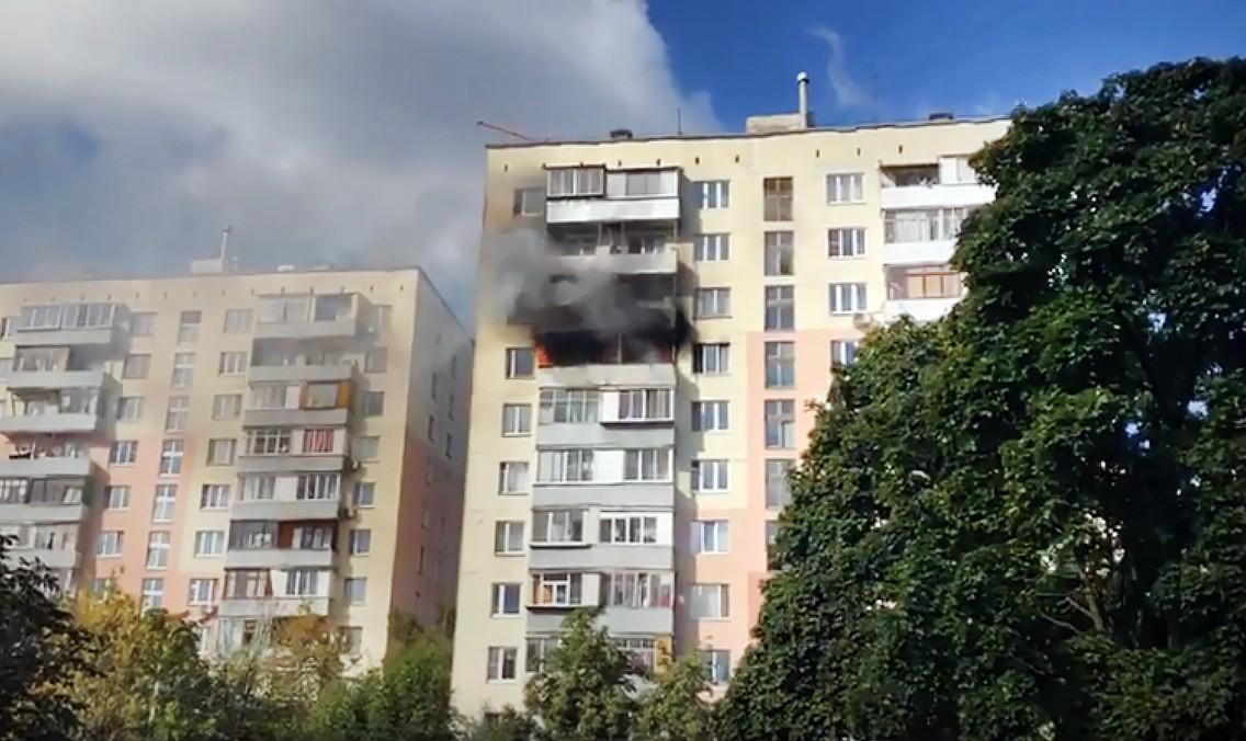 Последствия пожара в жилом доме