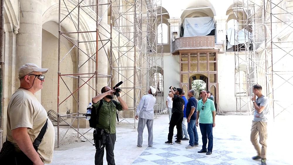 Западные журналисты в Сирии