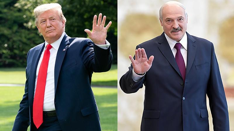 Дональд Трамп и Александр Лукашенко