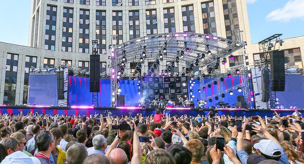 Концерт на проспекте Сахарова