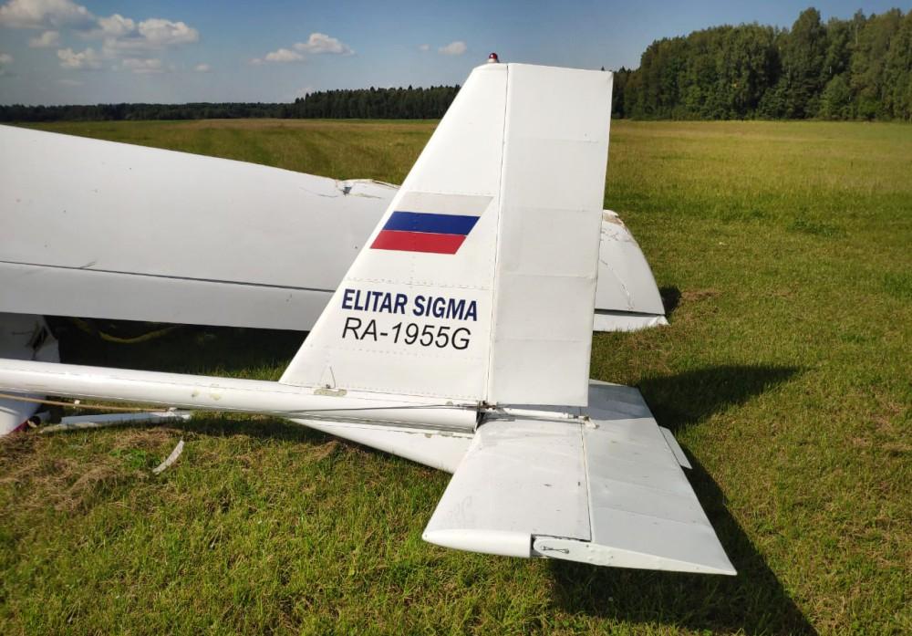 Последствия падения легкомоторного самолета