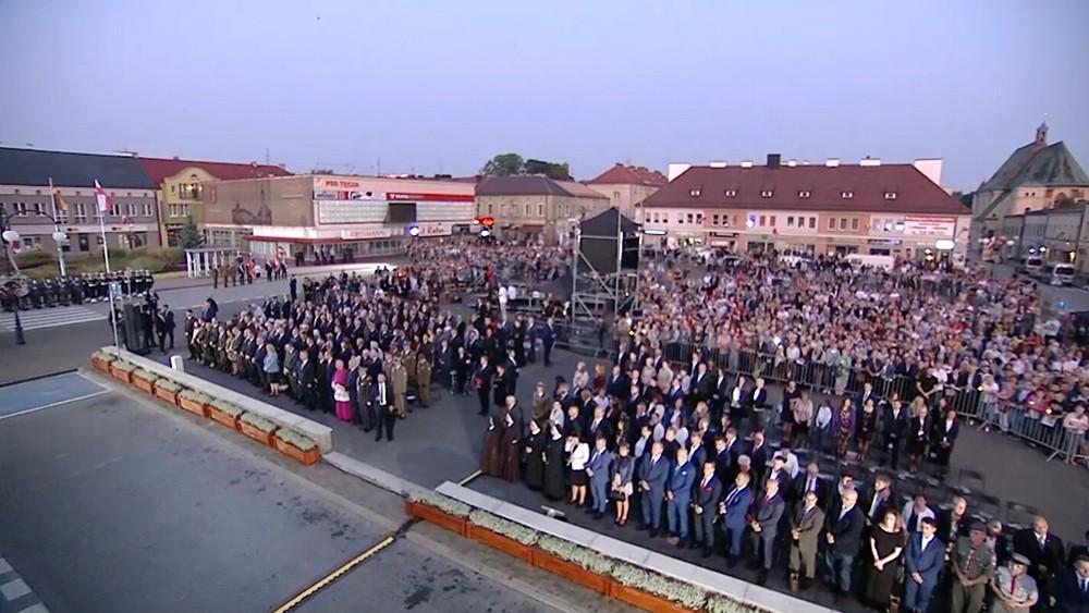 Траурные мероприятия в Польше, по случаю начала Второй мировой войны