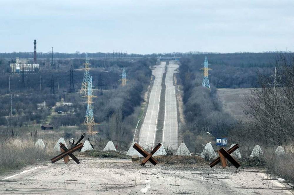 Зона разграничения в Донбассе