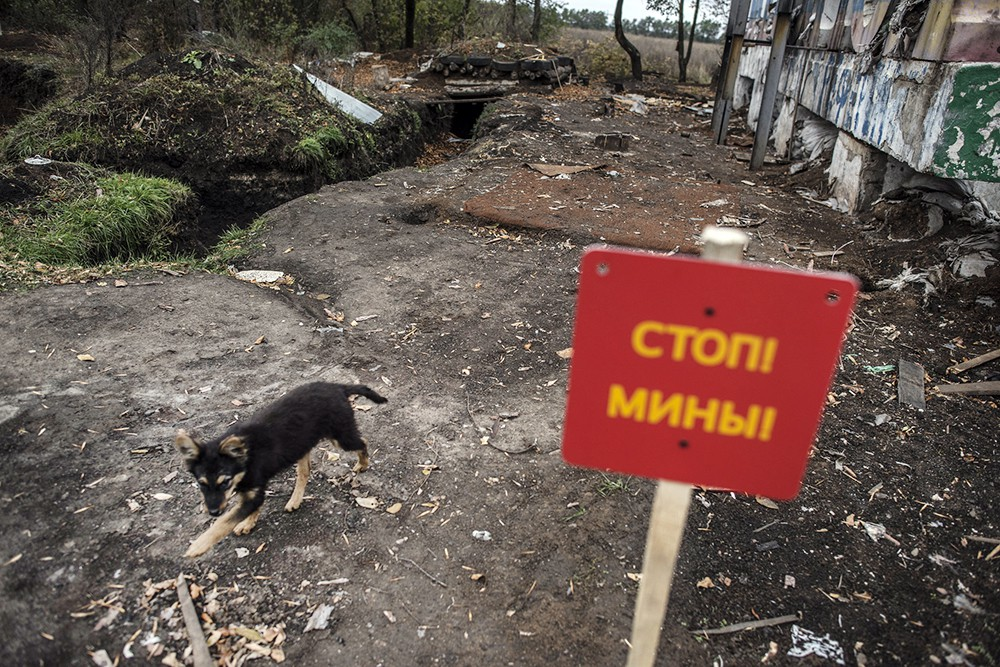 Минное поле в Донбассе