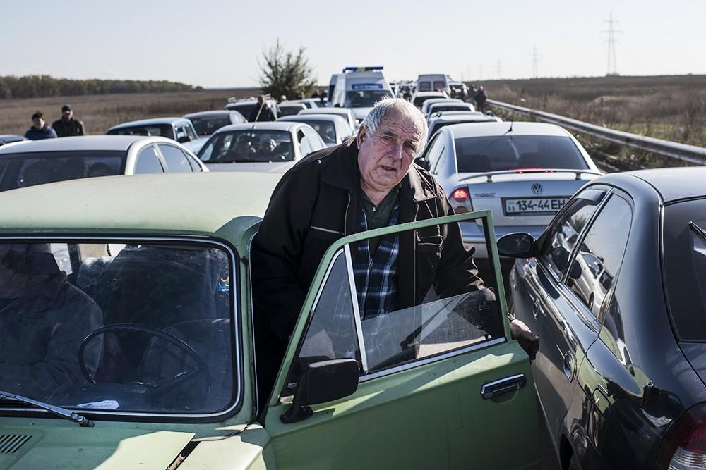Транспортная блокада в Донбассе
