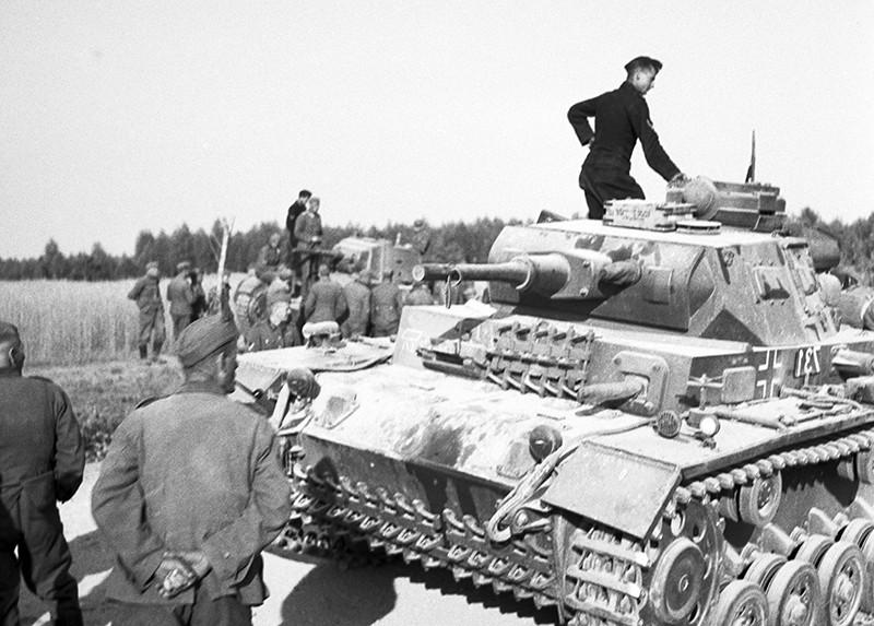 Солдаты Вермахта на территории СССР, 1941 год