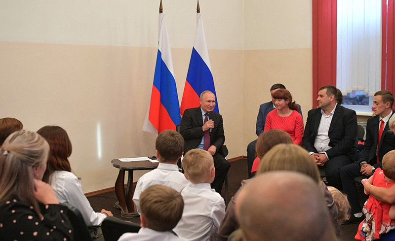 Встреча с жителями Иркутской области