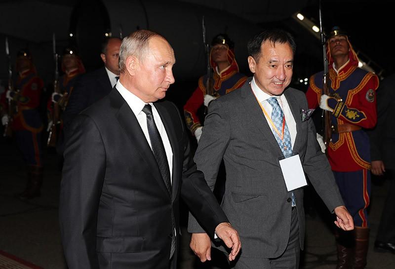 Официальный визит президента России Владимира Путина в Монголию