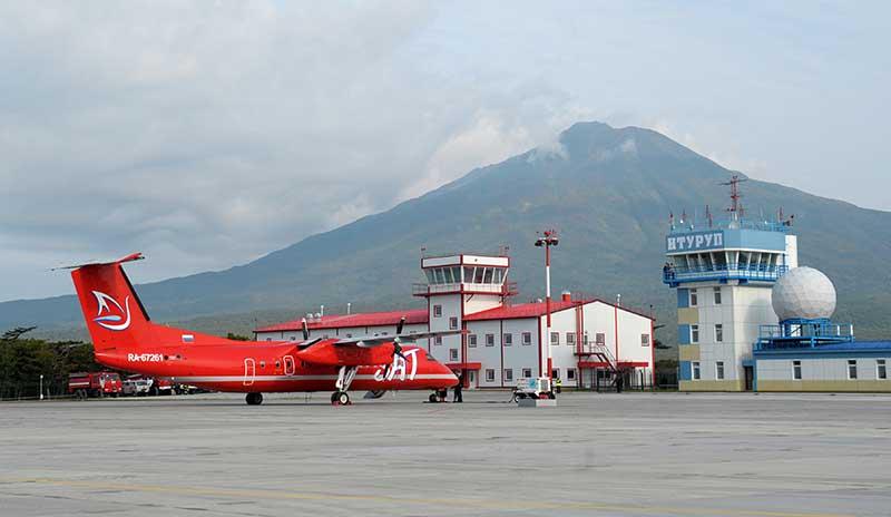 Аэропорт острова Итуруп