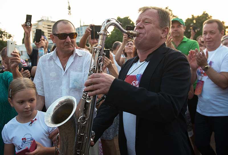 Музыкант Игорь Бутман