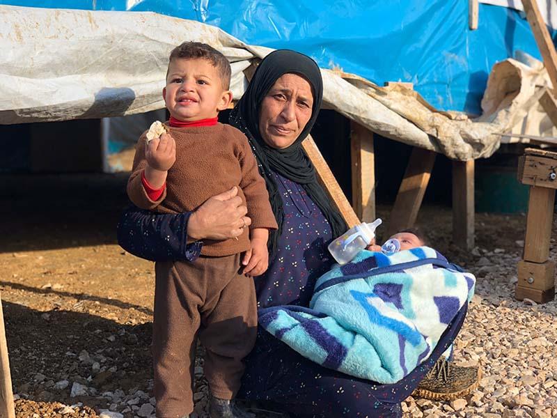 Сирийские беженцы