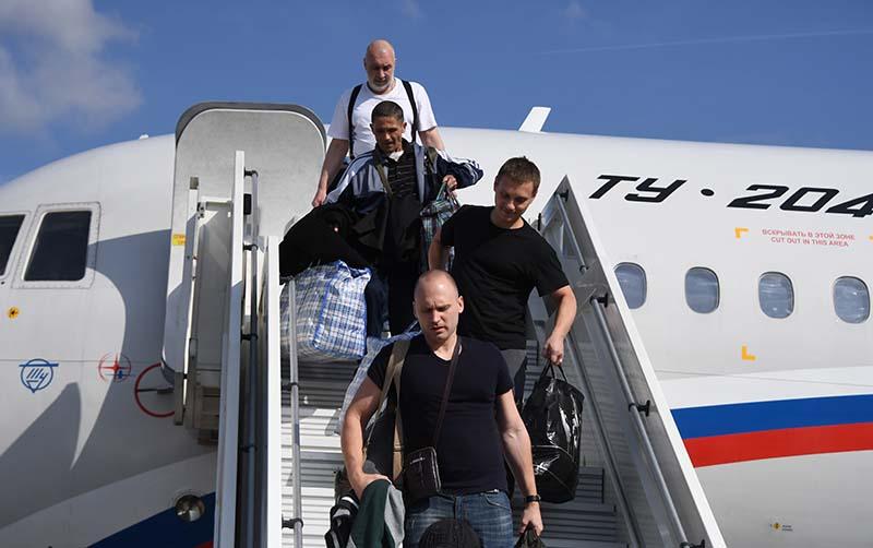 Участники договоренности об освобождении между Россией и Украиной