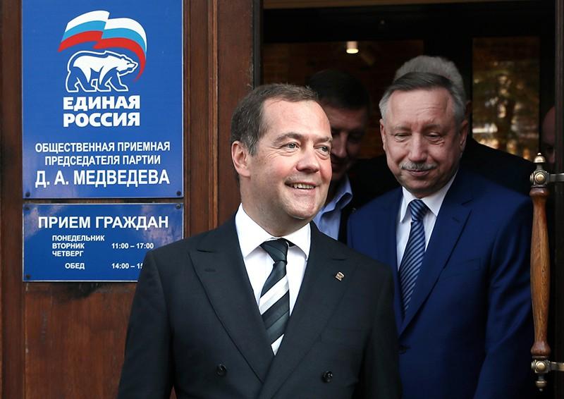 Дмитрий Медведев и Александр Беглов