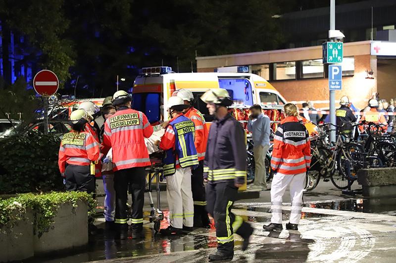 Пожар в больнице Дюссельдорфа