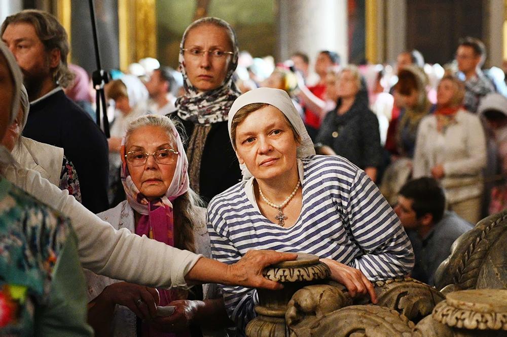 Православные верующие