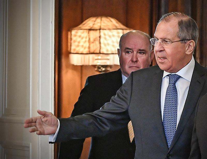 Сергей Лавров и Григорий Карасин