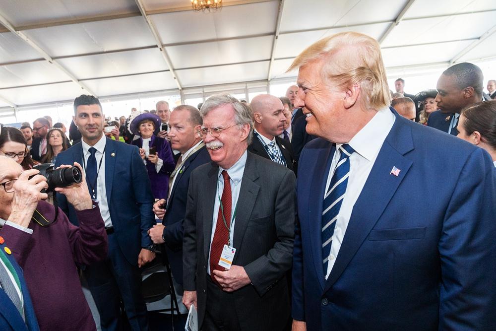 Дональд Трамп и Джон Болтон