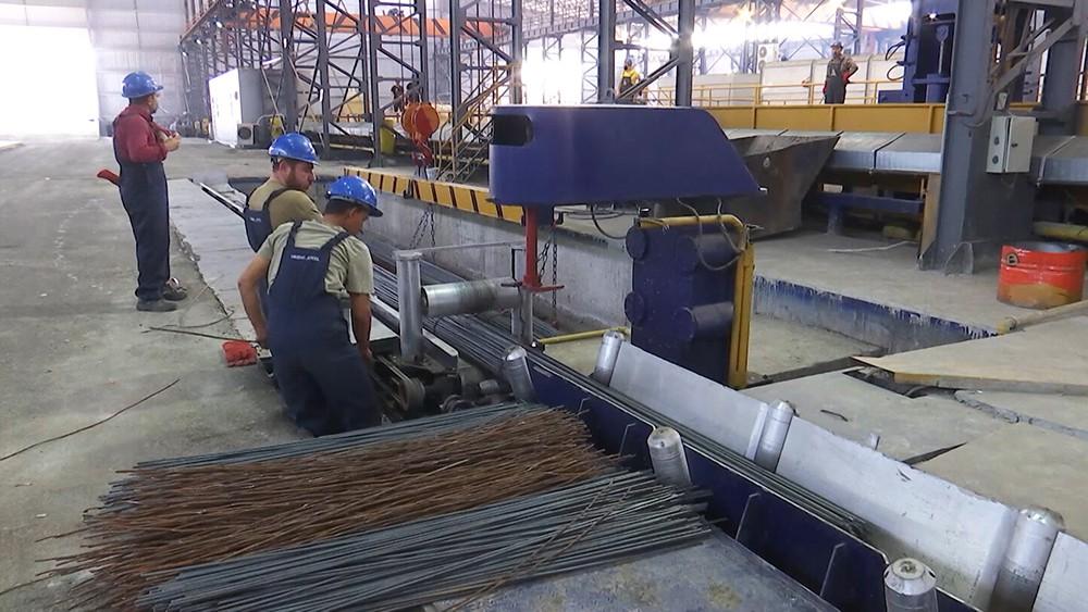 Завод по производству арматуры в Сирии