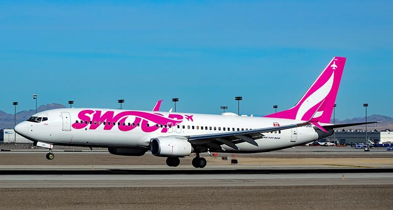 Boeing 737 Swoop Airlines