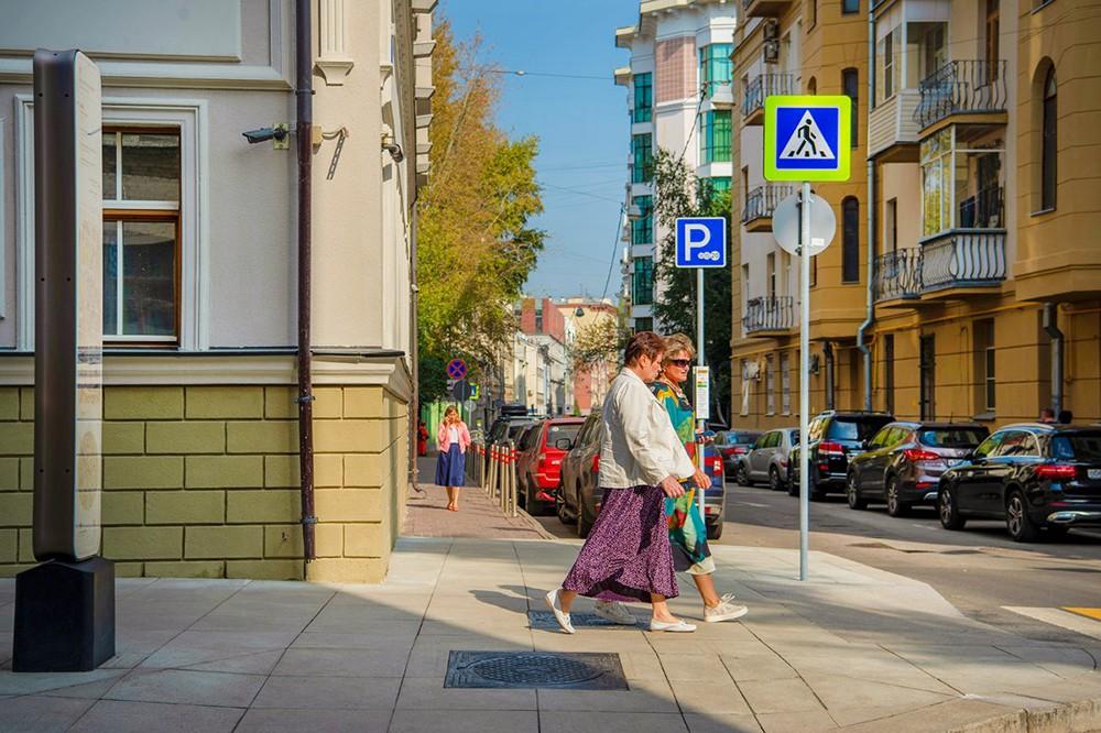 Благоустройство улиц Москвы