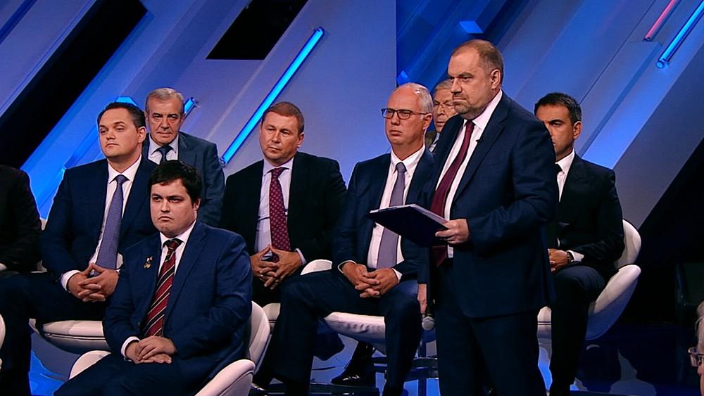 "Участники ""Диалога"" с Дмитрием Медведевым"