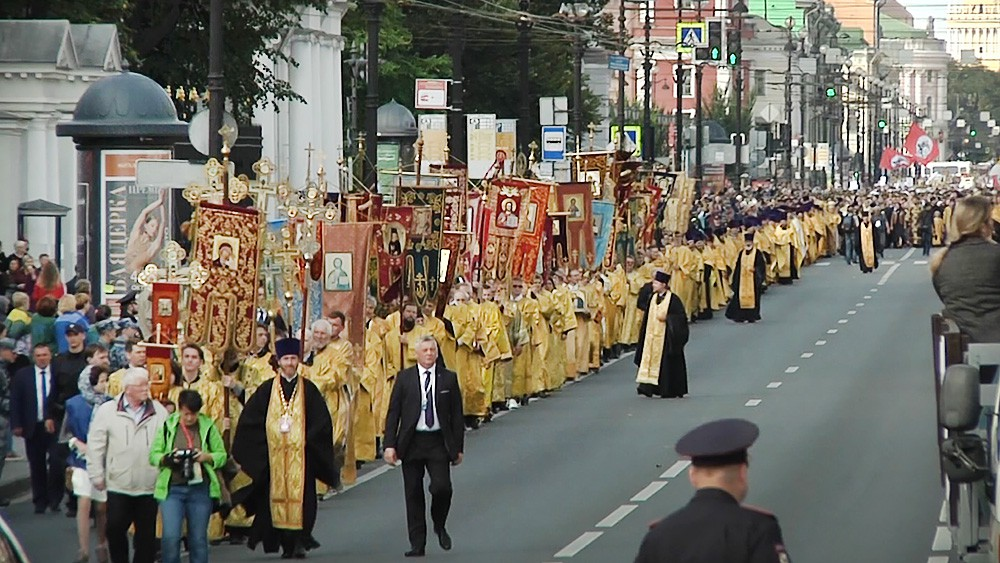Крестный ход в Санкт-Петербурге