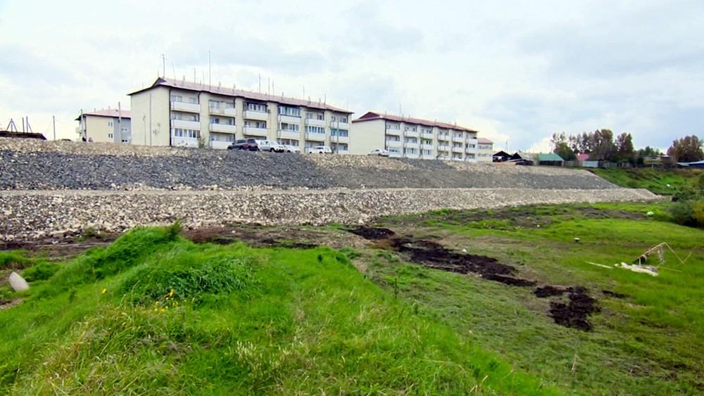 Восстановленное жилье после паводка