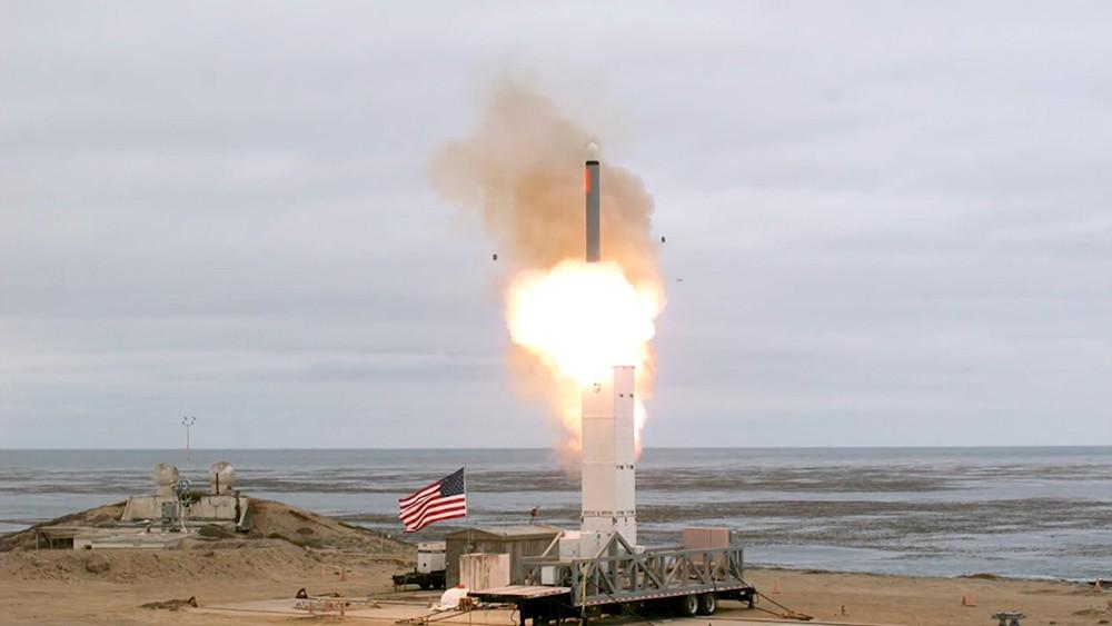 Запуск ракеты в США