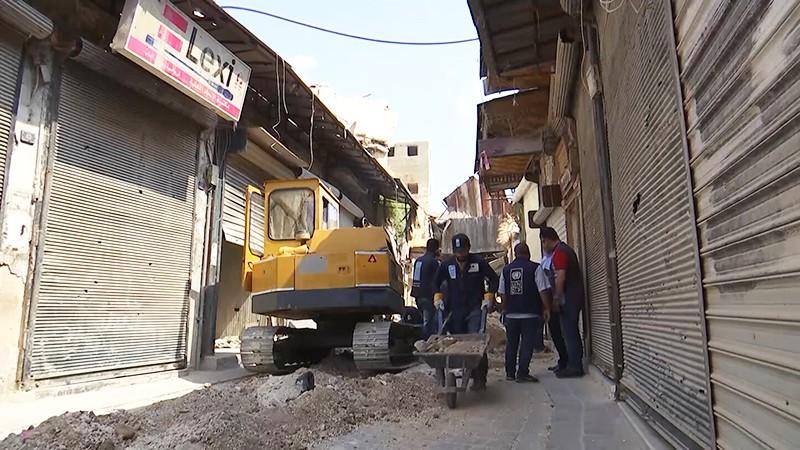 Восстановительные работы в Сирии